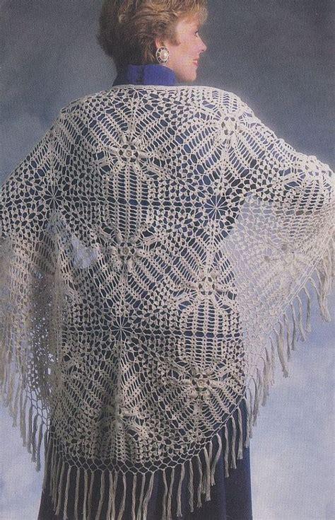 pattern crochet lace shawl lace shawl crochet pattern