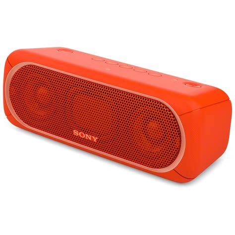 Speaker Wireless Bluetooth Sony Srs Xb30 sony srs xb30 bluetooth speaker srsxb30 b h photo