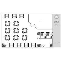 cafe operation layout restaurant floor plan exles