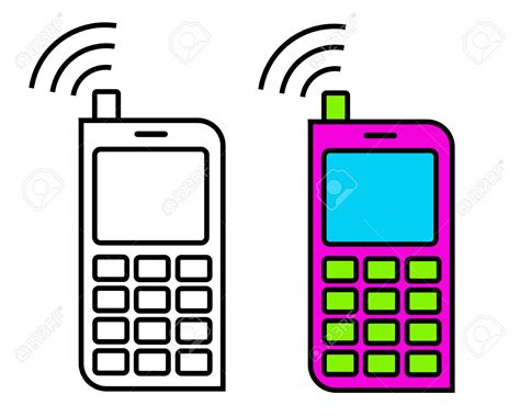 clipart cellulare pin clipart telefon mobiltelefon on