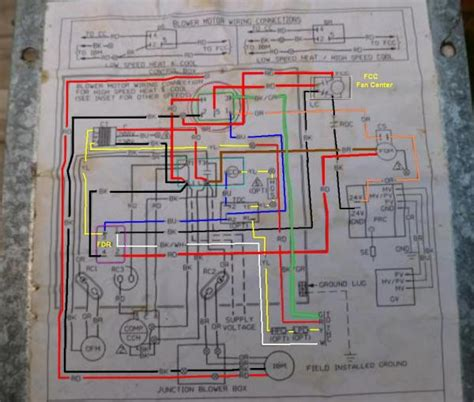 wiring diagram for rheem gas furnace rheem model rrgg 05n31jkr furnace problem
