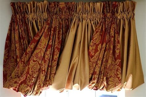 pouf valance curtains 75 best images about windows on pinterest window