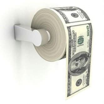 Money Origami Toilet - pap how to part 5