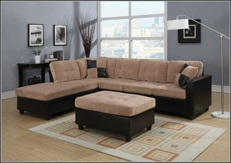 Reversible Sectional Sofa Microfiber Reversible Chaise Sectional Sofa Sofa Home