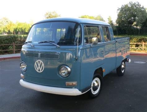 Volkswagen Cab For Sale by 1968 Volkswagen Bay Window Cab Bring A Trailer