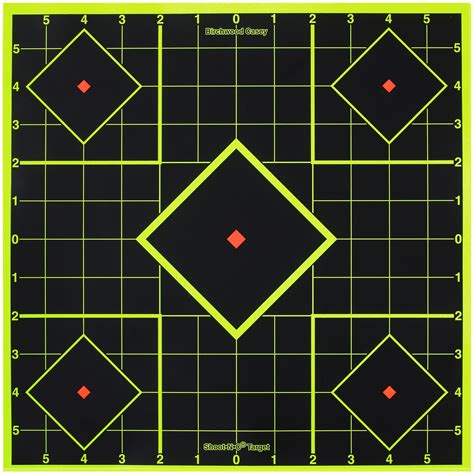 printable zero targets best target for zeroing red dot
