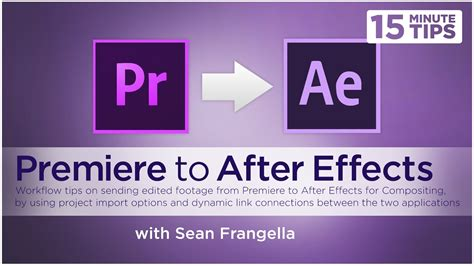 how to integrate after effects with adobe premiere pro cs6 how to send link premiere after effects projects