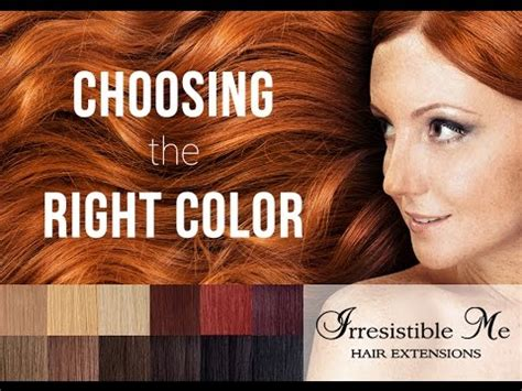 how to choose your color of hair extensions lox hair extensions choosing the right color for your irresistible me hair extensions