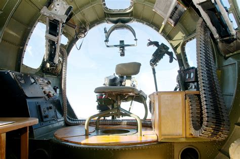 interior of the nose of boeing b 17 flying fortress quot alumi