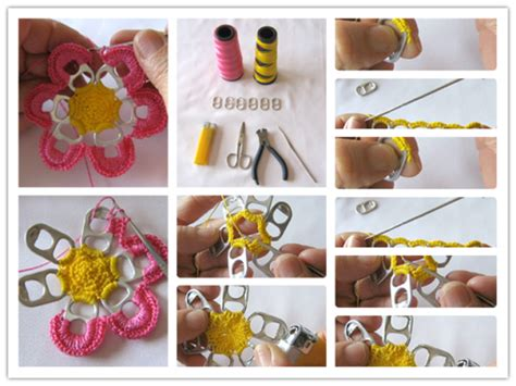 do it yourself crafts step by step find craft ideas how to pretty flowers with recycle beer can pull tabs step