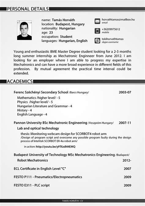 curriculum vitae student student curriculum vitae help