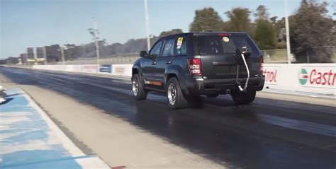 srt8 jeep turbo twin turbo jeep grand cherokee srt8 goes drag racing aims