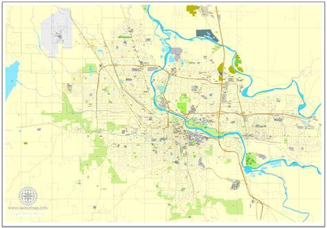 map of oregon pdf eugene pdf map oregon us printable vector city plan