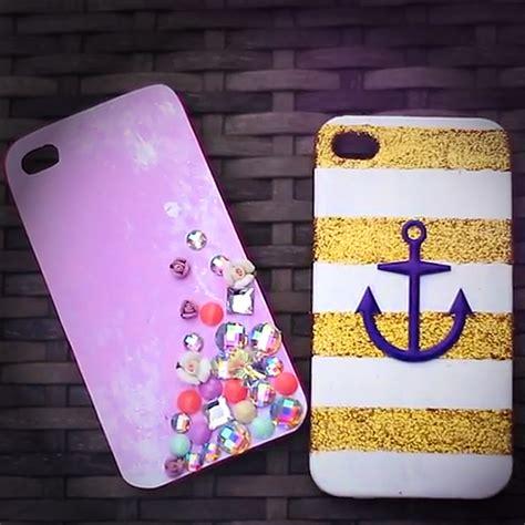 mobile cover design homemade diy iphone case video popsugar fashion