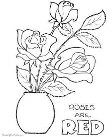 flower coloring pages adults coloring