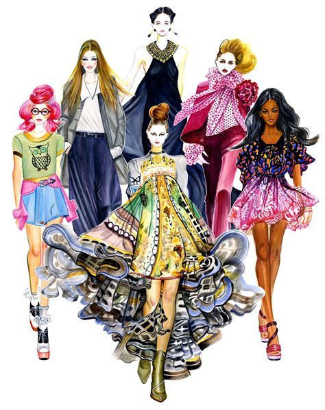 fashion illustration gu in style