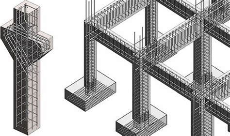 column layout work reinforced concrete column rcc column footing rcc