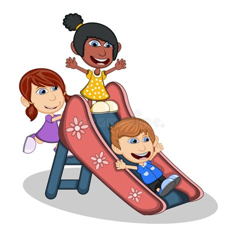 what is the approximate playing time of full version of jana gana mana kids playing on a slide cartoon stock vector image 70163924