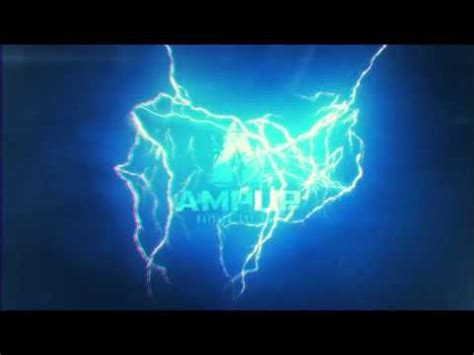 thunder and lightning logo after effects templates from