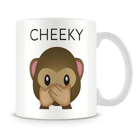 emoji cheeky mug buy from prezzybox