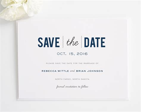 Svae The Date Card Templates by Save The Date Wedding Invitations Save The Date Wedding