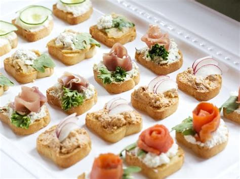 bridal shower finger food appetizers how to host a brunch wedding shower tapenade smoked salmon and finger foods