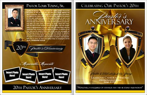 eminence pastor wife anniversary program pastor