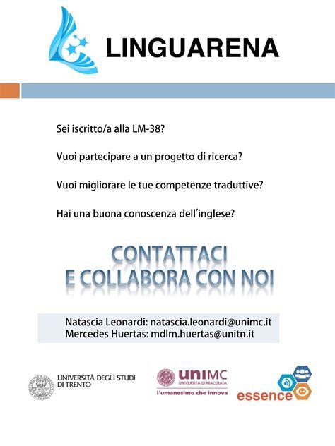 lettere moderne macerata portale docenti universit 224 di macerata natascia leonardi