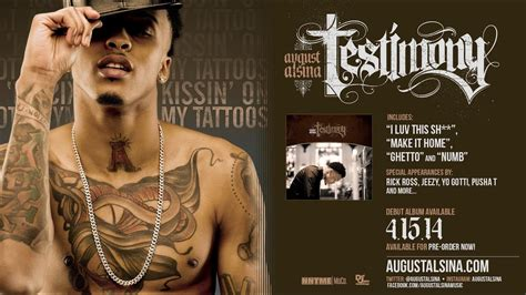 august alsina quot kissin on my tattoos quot pre order