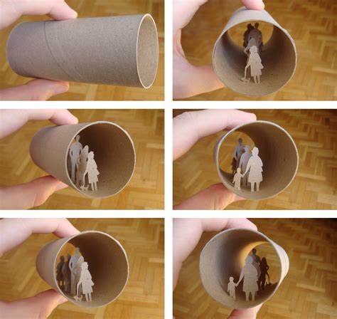 How To Make Prints On Paper - toilet paper roll things doanie likes