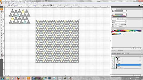 rotate pattern sketch illustrator tutorial how to rotate and scale a pattern