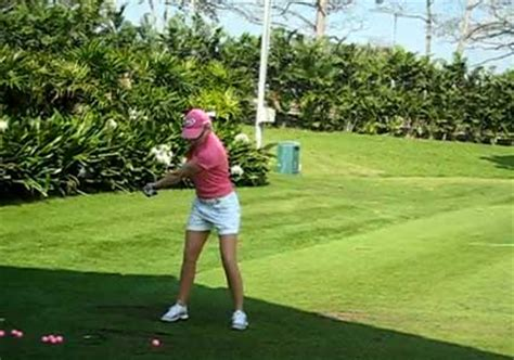 paula creamer swing ruthless golf the top of your one piece takeaway