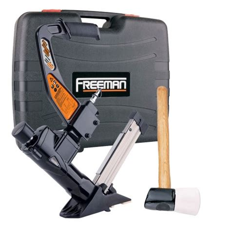 freeman pfl618br 3 in 1 pneumatic flooring nailer floor