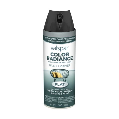 shop valspar color radiance blindfold enamel spray paint actual net contents 12 oz at lowes