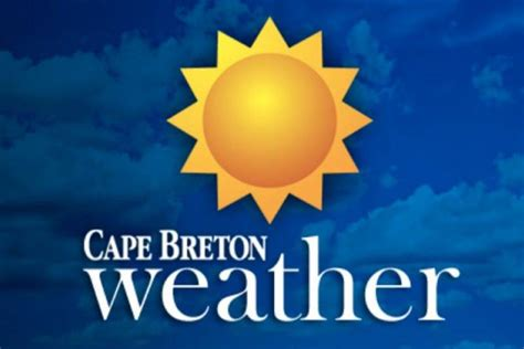 Cape Breton Mba Fees by Tuesday S Weather Forecast For Cape Breton Local News