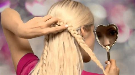 step by step directions for a choppy haircut braided heart hairstyle for long hair tutorial youtube
