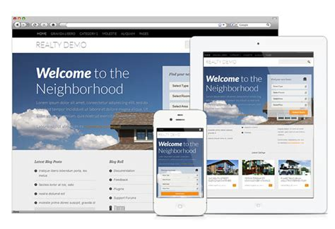 wordpress theme orion free free real estate wordpress theme with property management