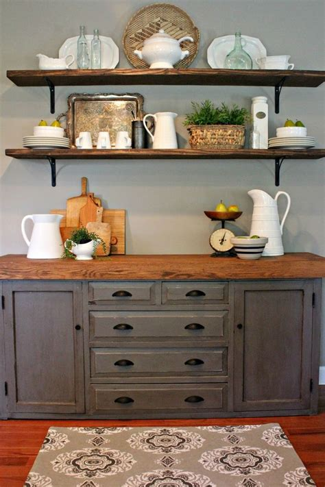 kitchen buffets furniture 25 best dining room shelves ideas on dining room floating shelves dining room