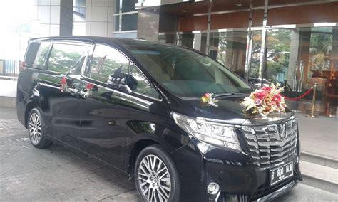 wedding car jakarta mvp wedding car sewa mobil pengantin mewah rental alphard