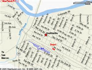 smithville map map courtesy of mapquest