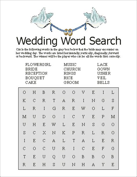 printable wedding word search 6 best images of things men word scramble printable girl
