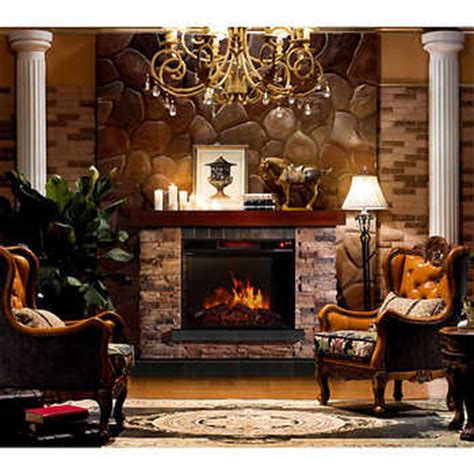 hudson electric fireplace mantel