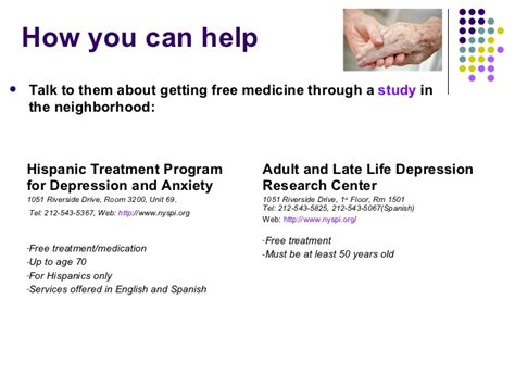 how to get a therapy for depression elderly depression