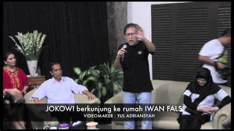 Download Mp3 Iwan Fals Jokowi   jokowi berkunjung ke rumah iwan fals viyoutube