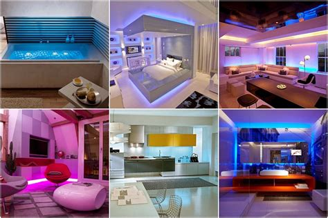 led home lighting led lighting interior designs for home interior design
