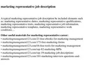 Advertising Sales Representative by Marketing Representative Description