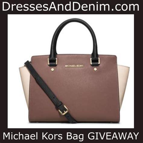 Featured Giveaways - dressesanddenim com michael kors handbag giveaway
