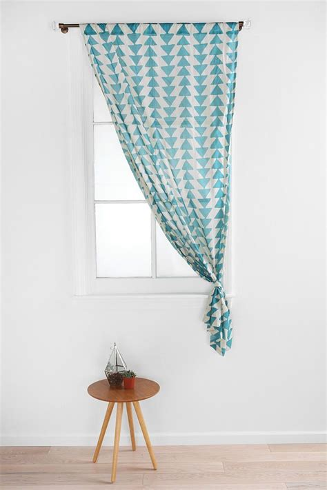 magical thinking curtains magical thinking triangle chain curtain office space