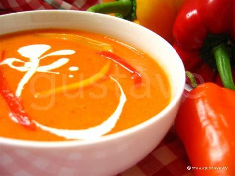 velout 233 aux deux poivrons soupe onctueuse aux poivrons