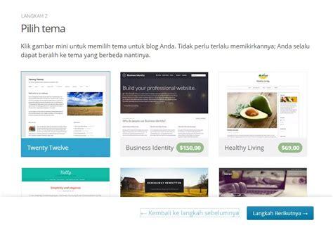 panduan membuat wordpress gratis panduan cara membuat blog wordpress gratis ciriseo blog